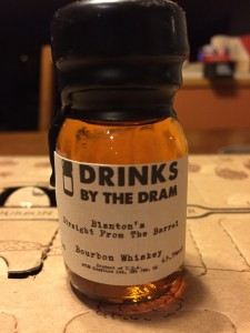 2015-12-29 Blanton's Straight From The barrel